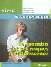 Le cannabis et ses risques à l'adolescence - Intérieur - Format classique