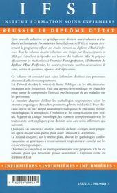 Soins Infirmiers Aux Personnes Atteintes D'Affections Respiratoires - 4ème de couverture - Format classique