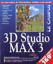 Le Campus 3d Studio Max 3 - Intérieur - Format classique
