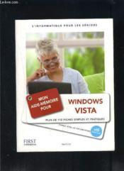 Mon aide-mémoire pour utiliser Windows Vista - Couverture - Format classique
