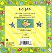 Les petites ourses scintillantes ; la fee - 4ème de couverture - Format classique
