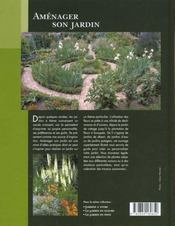 Amenager Son Jardin - 4ème de couverture - Format classique