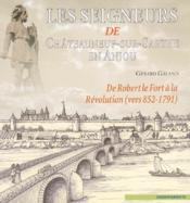 Seigneurs De Chateauneuf-Sur-Sarthe (Les) - Couverture - Format classique