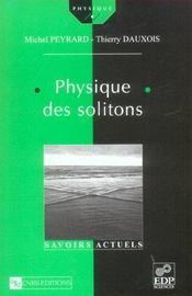 Physique des solitons - Intérieur - Format classique
