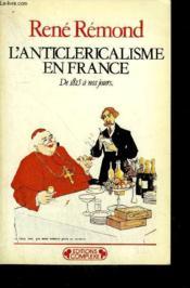 Anticlericalisme en france - Couverture - Format classique