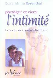 Partager et vivre l'intimite - Intérieur - Format classique