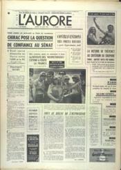 Aurore (L') N°9568 du 10/06/1975 - Couverture - Format classique