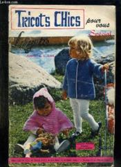 Tricots Chics N° 121. - Couverture - Format classique