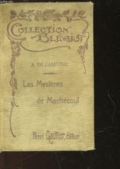 Les Mysteres De Machecoul - Couverture - Format classique