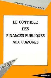Le contrôle des finances publiques aux Comores - Couverture - Format classique