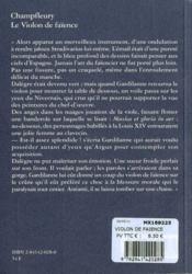 Le violon de faïence - 4ème de couverture - Format classique