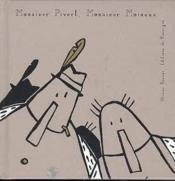 Monsieur pivert, monsieur moineau - Couverture - Format classique