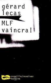 Mlf Vaincra - Couverture - Format classique