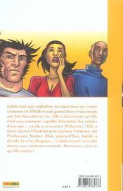 X-men t.1 ; Jubilé - 4ème de couverture - Format classique