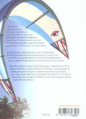 Kitesurf ; s'initier et progresser - 4ème de couverture - Format classique