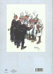 Monographies Boucq, Une Monographie - 4ème de couverture - Format classique
