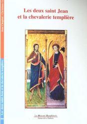 Les deux saint jean et la chevalerie templiere - Intérieur - Format classique