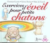 Exercices D'Eveil Pour Petits Chatons - Intérieur - Format classique