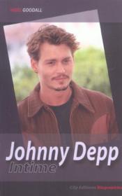 Johnny depp intime - Couverture - Format classique