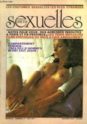 Unions Sexuelles N°17 - Les Coutumes Sexuelles Les Plus Etranges - Couverture - Format classique