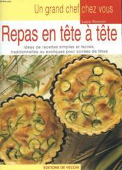 Repas En Tete A Tete - Couverture - Format classique