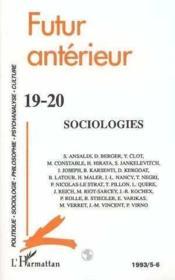 Sociologies - Couverture - Format classique