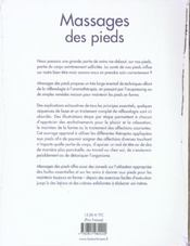 Massages Des Pieds - 4ème de couverture - Format classique