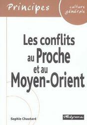 Les conflits du proche et du moyen-orient - Intérieur - Format classique