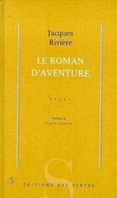 Le roman d'aventure - Couverture - Format classique