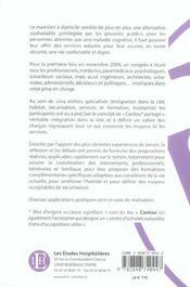 Alzheimer A Domicile : Le Cantou Partage - 4ème de couverture - Format classique