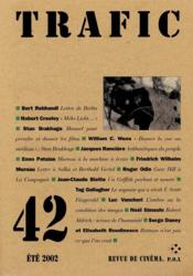 Revue Trafic T.42 - Couverture - Format classique