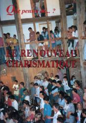 Le Renouveau Charismatique - Couverture - Format classique