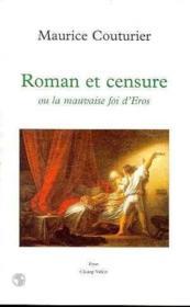 Roman Et Censure - Couverture - Format classique