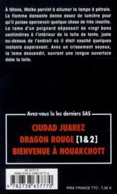 SAS t.121 ; la résolution 687 - 4ème de couverture - Format classique