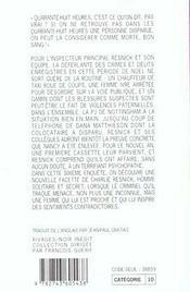 Lumiere Froide - 4ème de couverture - Format classique
