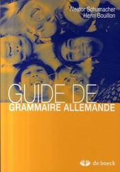 Guide de grammaire allemande (12ème édition) - Intérieur - Format classique