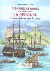 À la recherche de La Pérouse ; deux sabots sur la mer - Intérieur - Format classique