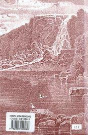 Livre De La Theologie Mystique (Le) - 4ème de couverture - Format classique