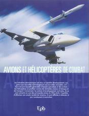 Avions Et Helicopteres De Combat - 4ème de couverture - Format classique