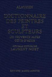 Dictionnaire peintres provencaux - Couverture - Format classique