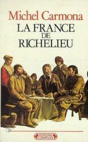 La France De Richelieu - Couverture - Format classique