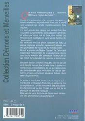 L'eglise hantee de delain ; revelations sur l'enquete - 4ème de couverture - Format classique