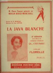 La Java Blanche - Pour Piano. - Couverture - Format classique