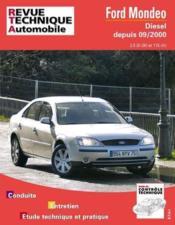 Rta 648.1 Ford Mondeo 2 Diesel Depuis 09/2000 - Couverture - Format classique