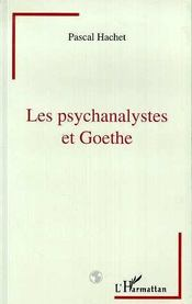 Les Psychanalystes Et Goethe - Intérieur - Format classique