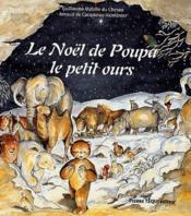 Le noël de Poupa le petit ours - Couverture - Format classique