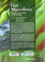 Gut Microflora. Digestive Physiology And Pathology - 4ème de couverture - Format classique