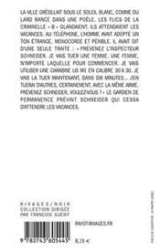 Vaines Recherches - 4ème de couverture - Format classique