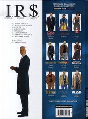 I.R.$ T.1 ; La Voie Fiscale - 4ème de couverture - Format classique