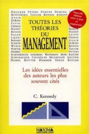 Toutes Les Theories Du Management - Couverture - Format classique